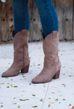 BOTAS COW BOY BEIGE